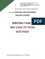 Grammar & Vocabulary for IELTS Writing