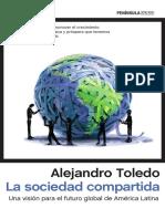 Libro Una Parte de La_sociedad_compartida de Alejandro Toledo
