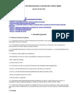 NP 081 - 2002 NORMATIV de Dimensionare a Structurilor Rutiere Rigide