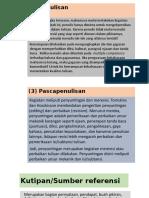 2) Penulisan17