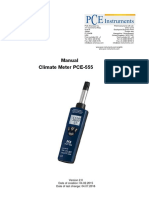 PCE-555 Air Humidity Meter