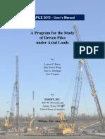 APILE 2015 Users Manual