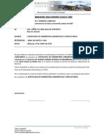 INFORME N° 001-2019-EUSEBIO A. ESTRADA HUAMANÑAHUI-no paso