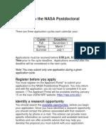 Npp application for jpl