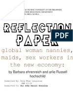 REFLECTIONPaper (Global Women)