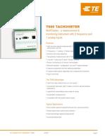 t600 Tachometer