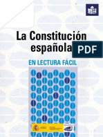 La Constitución Española Lectura Fácil