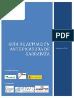 Guía Actuación Ante Picadura de Garrapata