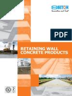Retaining Wall Concrete