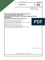 [DIN en 934-3-2012-09] -- Zusatzmittel Für Beton, Mörtel Und Einpressmörtel - Teil 3_ Zusatzmittel Für Mauermörtel - Definitionen, Anforderungen, Konformität, Kennzeichnung Und