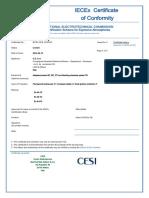 IECEX-CES-14.0004X