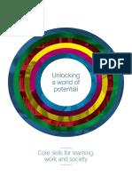 Core Skills Brochure Unlocking a World of Potential