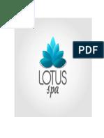 trabajo final Lotus spa