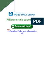 Philip Prowse La Detective PDF