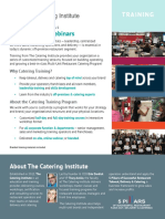CI Training Sales Sheet