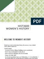 history women
