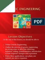 2.5.9 Genetic Engineering