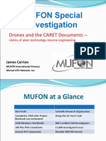 Mufon Drones CARET