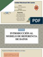 Introducción Al Modelo de Referencia de Datos