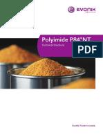 Evonik Polyimide p84nt Technical Brochure