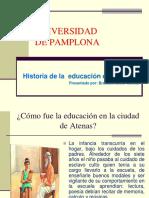 Historia de La Educacion de Atenas Mao