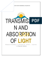 Transmission and Absorption of Light