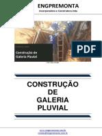 Construção de Galeria Pluvial