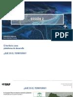 El territorio como plataforma de desarrollo