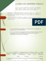 Apresentação Organização Mp