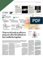Nueva Técnica Ofrece Mayor Efectividad en Las Radioterapias
