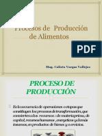 PROCESOS DE PRODUCCION DE FRUTAS FRUTAS