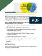 Regulatory Framework - Offshore