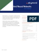 Skymind the Math Behind Neural Networks