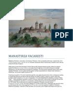 manastirea vacaresti