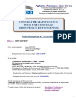 Exemple Contrat