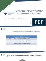 Clase 03 Modelos de Gestion de La Calidad Educativa