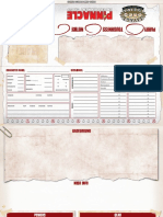 SWADE Table Tent Character Sheet