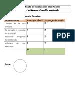 Pauta de Evaluación Disertación