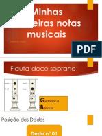 Minhas Primeiras Notas Musicais - Notas Si, Lá, Sol, Dó.pptx