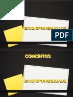05 - Biodisponibilidade
