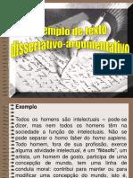 EXEMPLO DE TEXTO DISSERTATIVO-ARGUMENTATIVO.pptx