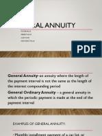 General Annuity