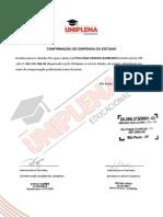 Declaração de Autorização Da Dispensa - POLLYANA PEREIRA
