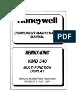 KMD 540 Manual de Mantenimiento
