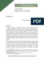 Aspectos metapsicológicos, técnicos y teórico clínicos - Luz Porras