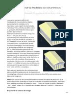 Mvblog.cl-autoCAD 3D Tutorial 02 Modelado 3D Con Primitivas Templo Griego