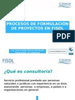 10 Noviembre 2017 Presentación Formulaciones Fisdl Ues