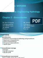 Chapter 5 Groundwater