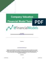 EFM Simple DCF Model 4