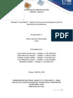 Aplicación de Técnicas de Investigación - Grupo 183